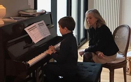 Je n'apprends le piano que depuis quelques semaines mais je tente avec brio l'audition